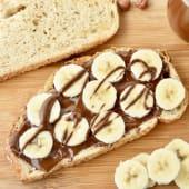 Tosta de Nutella e Banana