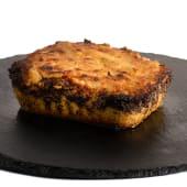 Pastel de choclo relleno con carne