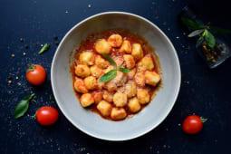 Gnocchi sauce with Basilico 220gr