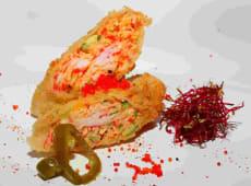Pikantna sałatka krabowa