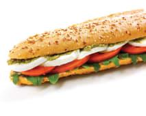Oferta 2x1: Sandes Mozarella e Pesto (Vegetariana)