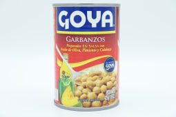 Garbanzos Guisados Goya Lata 425 Gramos.