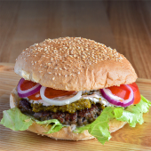 Burger Igraszki z Diabłem podstawowy XL