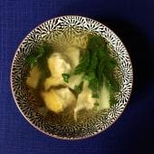 Гонконгський курячий суп з вонтоном (470г)