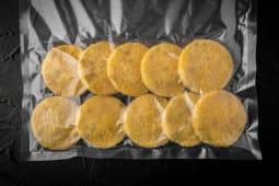 Papanași moldovenești din cartofi cu ciuperci, congelați