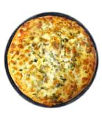 Хачапурі з сиром та зеленню