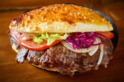 Kebab w bułce - wołowina