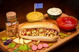 Hot-Dog cu cascaval