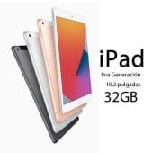 Apple iPad 8va generación 2020 10.2 WiFi 32GB A12 touch ID