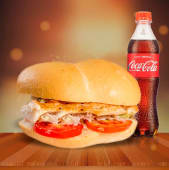Promo Glovo Filete Mediano + Coca Cola 500ml