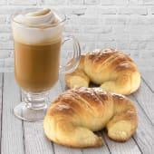 Café con leche (10 oz.) + 2 medialunas
