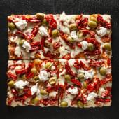 Pizza Soleggiati Olive Philadelphia (1/2 Teglia)