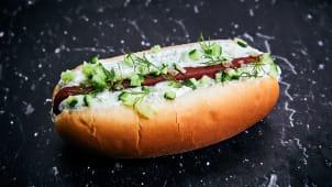 Tzatziki Hot dog