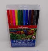 Marcador Escolar Pta Fina Colores Jgox12Un Lavables Art Berry 33050