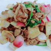 Sliced Goat Meat With Chinese Onion