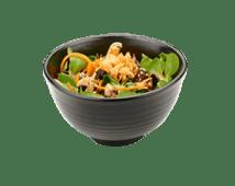 Теплый салат с куриными сердцами (290г)