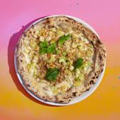 Pizza de Puerros y Gorgonzola