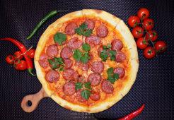 Піца з салямі (32см)