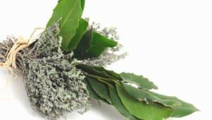 Bouquet garni thyn et laurier (par botte)
