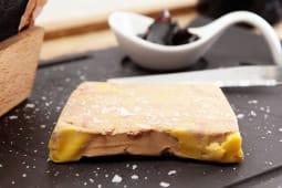 Terrina de foie con mermelada de higos