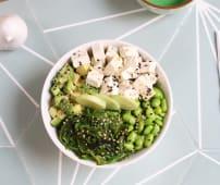 Vegan sushi bowl