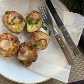 Картопля запечена з салом (250г)
