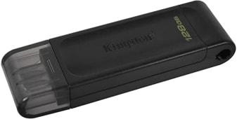 128Gb  USB3.2  Kingston DataTraveler 70 Black Type-C  DT70/128GB