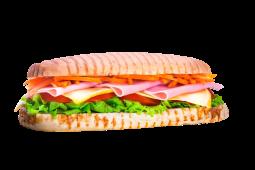 Sándwich de jamón cocido (grande)