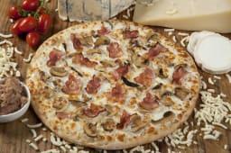 Pizza carbonara (30 cm.)
