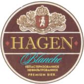 Пиво Hagen Blanche (1л)