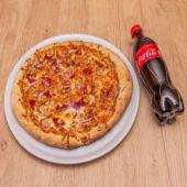 Pizza Al Horno De Piedra Barbacoa De Pollo