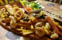 Półmisek ryb i owoców morza dla 2-óch osób