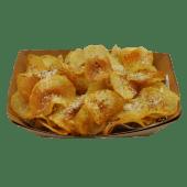 Chips con cacio, pepe e pecorino sardo