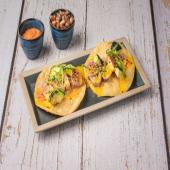 Taco crujiente de Tataki de atún rojo (3 uds.)