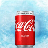 Coca Cola light en lata (330 ml.)