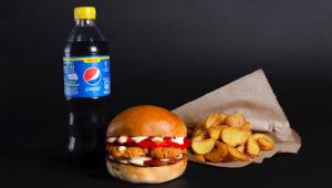 Фалафель burger menu