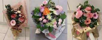 Buket mix ruža i cvijeća M