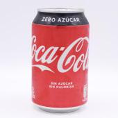Coca Cola Zero Lata De 33 Centilitros
