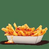 Bacon King Fries con Cheddar Sauce e Bacon Bits