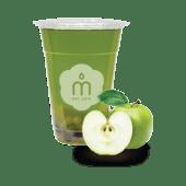 Bubble tea Green apple