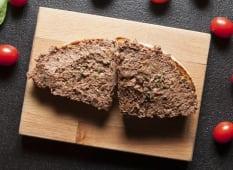 Bruschetta con patè d'olive