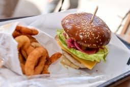 Chicken Bacon Egg Burger