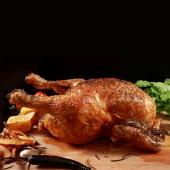 Pollo campero asado
