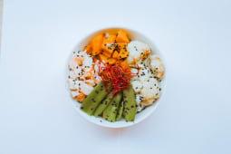 Sushi bowl & Sweet Potatotes
