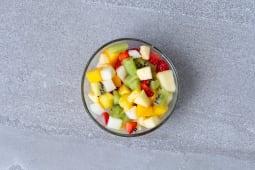 Salades de fruit frais