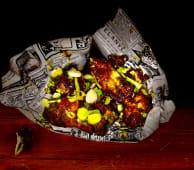 Alitas de pollo satay