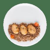 Курячі котлетки з гречкою (300г)
