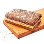 Sándwich de pavita y queso