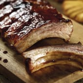 Genuine BBQ Ribs Costillar Party (Costillar y Medio)