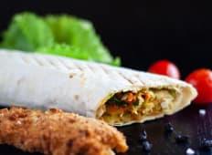 Kebab snitel de pui